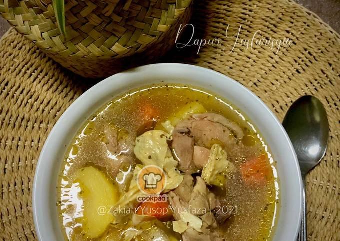 Sup Ayam Bersama Fucuk