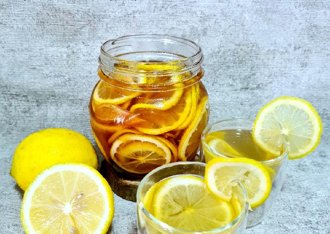 Honey Lemon + ginger (booster imun for cold and flu)