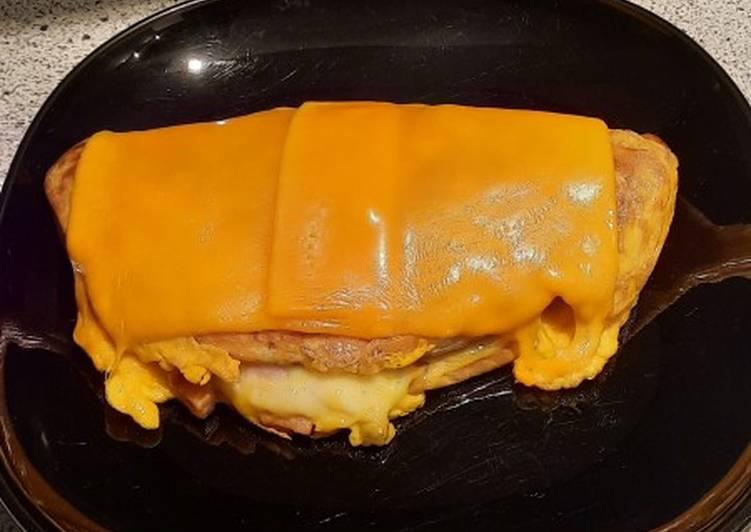 Recette Délicieuse Crêpe omelette