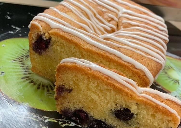 Amy's Lemon & Blueberry Loaf Cake