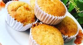 Hình ảnh món Banana muffins with almonds