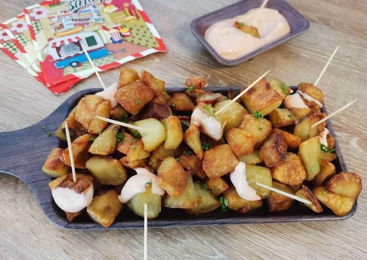 La Recette Pas à Pas Patatas bravas