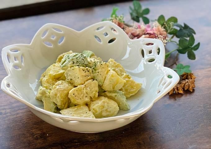 Wasabi Mayo Avocado and Potato Salad