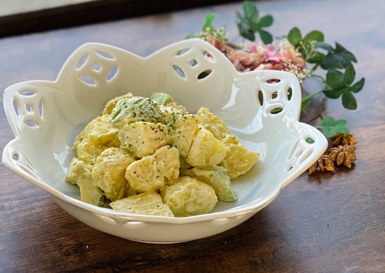 Try Using Food to Boost Your Mood Wasabi Mayo Avocado and Potato Salad