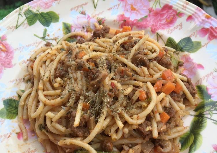 membuat spaghetti goreng cik nurul cepat  langkah aneka resepi enak Resepi Spaghetti Ringkas dan Enak dan Mudah