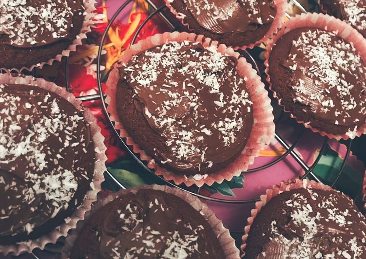 Muffins Nutella/coco râpée
