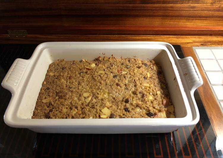 Easiest Way to Make Most Popular Baked Oats