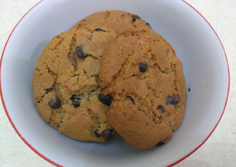 Chewy Chocochip Cookies Simple