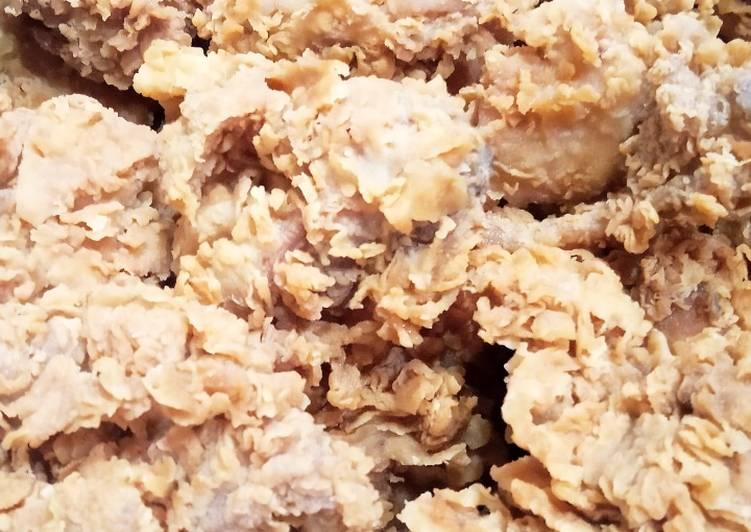 Ayam krispi ala KFC
