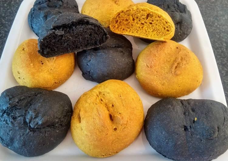 Comment Faire Des Petits pain au charbon végétal actif et au curcuma