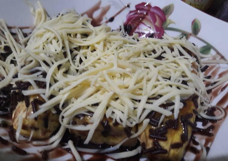 #menu buka puasa / pisang tanduk / pisang goreng / pisang keju coklat