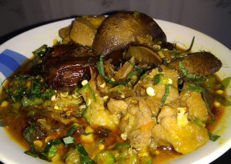 Absolutely Ultimate Dinner Easy Special Fried okro soup