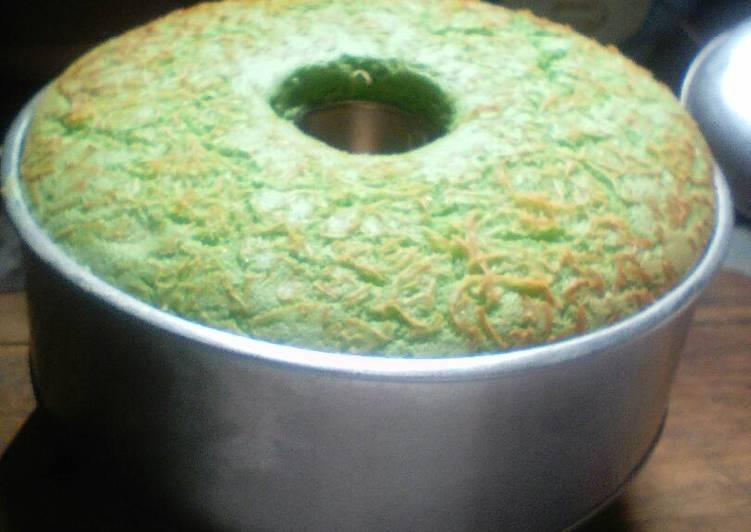 Resep Chiffon Cake Pandan Irit Oleh Rahimah Hayati Cookpad