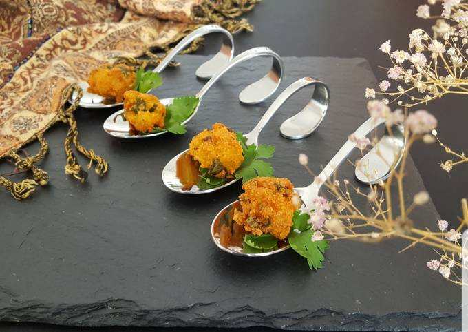 """Dhal fritters """"Gato piment"""""""