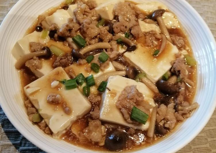 Recipe of Ultimate Minced Pork with Tofu