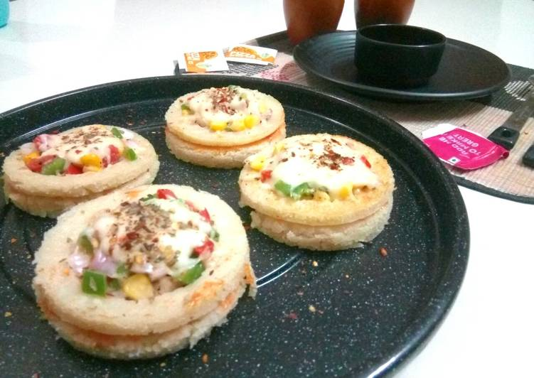 Recipe of Award-winning Idli Pizza Disc