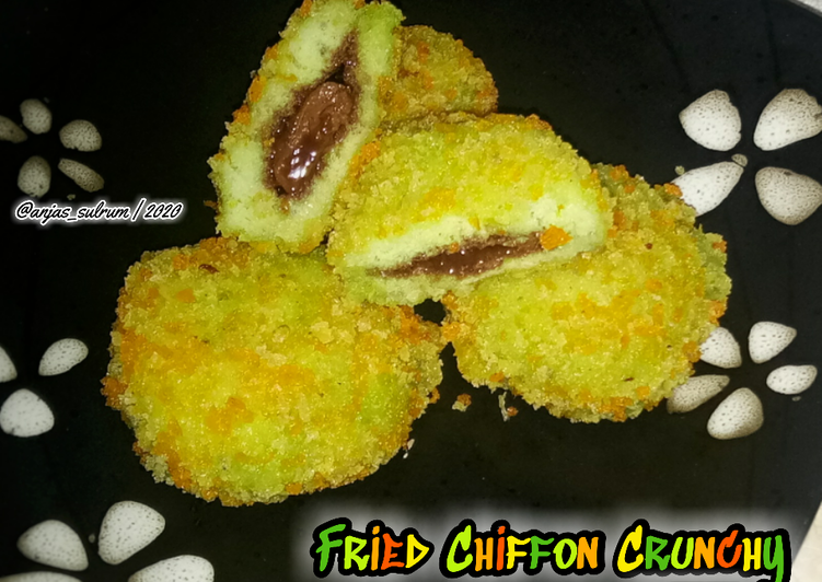 Fried Chiffon Crunchy - cookandrecipe.com