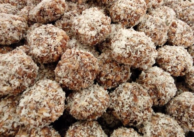 Discover How to Improve Your Mood with Food Coconut Rice Crispies Dates Balls#CoastalCoconutRecipeChallenge