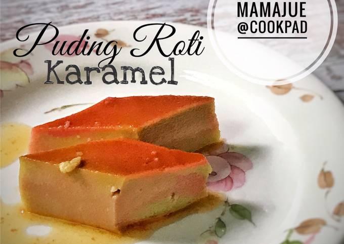 Puding Roti Karamel