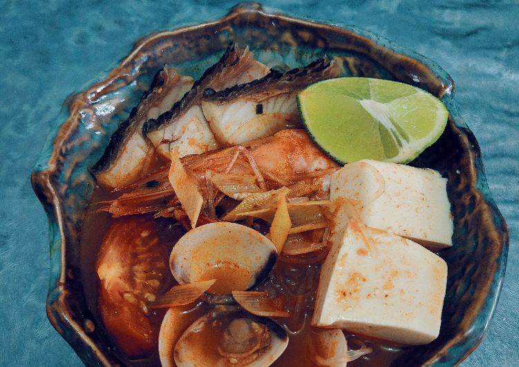 Step-by-Step Guide to Prepare Quick Tom yum vermicelli