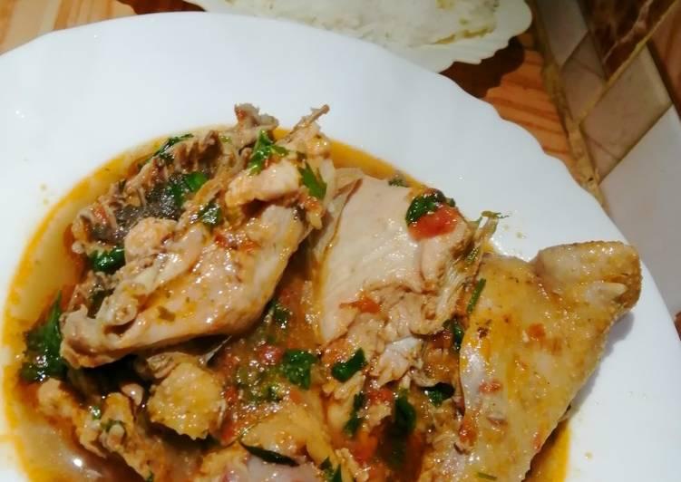 Garlic fried chicken stew#foodphotographychallenge