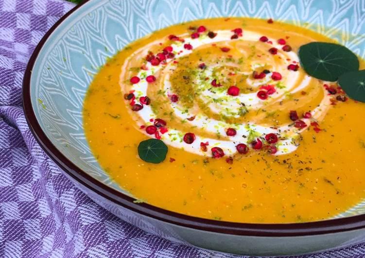Linsen Süßkartoffel Suppe