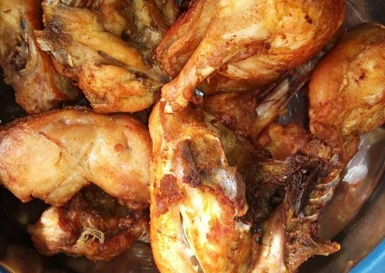 Fried chicken#sokoto