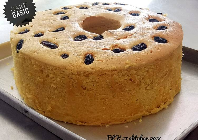 Resep Basic Cake Anti Gagal oleh kusumawardaniputri - Cookpad