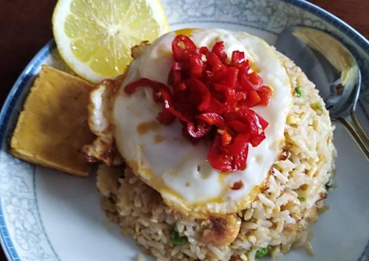 Resep Nasi Goreng Ebi simple Paling Top