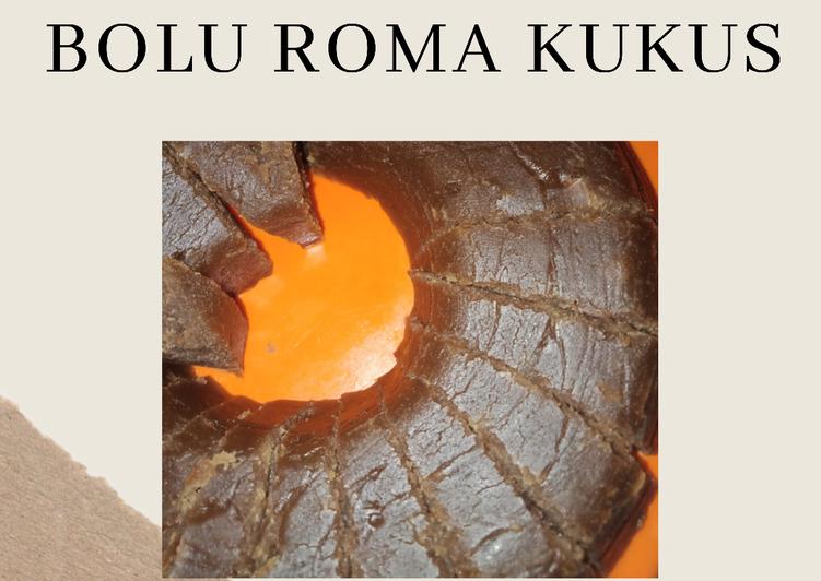 cara memasak Bolu Roma Kukus - Sajian Dapur Bunda