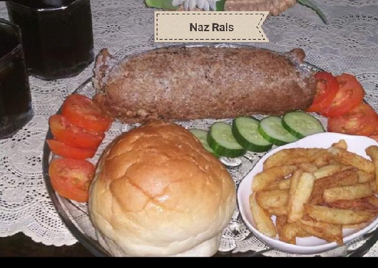 Top 100 Dinner Ideas Blends Beef steam kabab roll