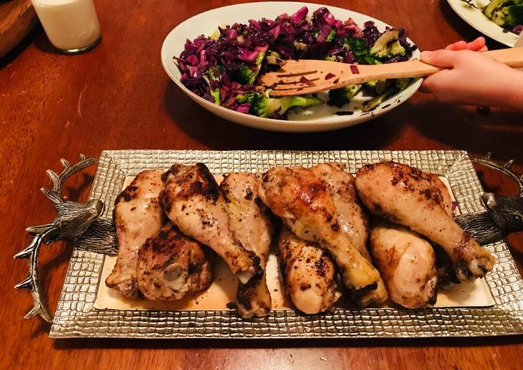 Easiest Way to Prepare Yummy Cast Iron Skillet Drumsticks