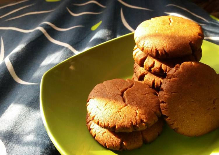 No Bake! Eggless 5 Ingredients Nutella Chocochips Cookies
