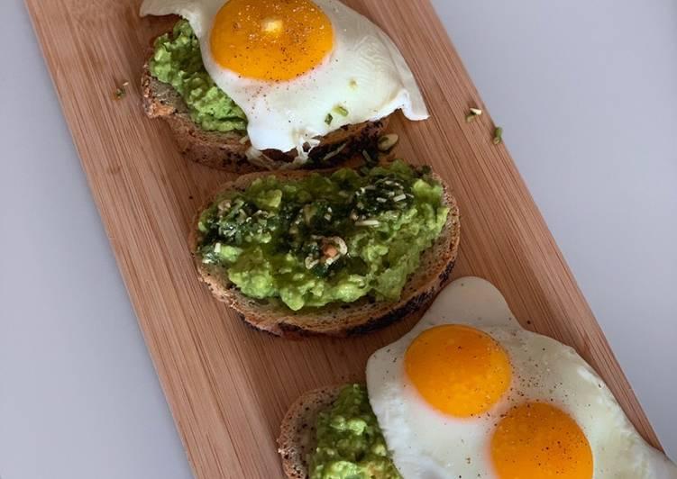 Avocado on toast two ways!