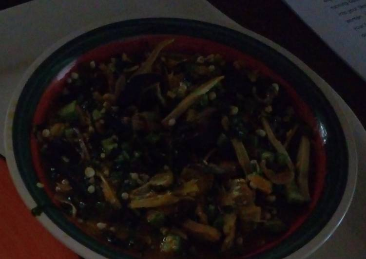 Simple Way to Prepare Perfect Delicious fresh okro soup