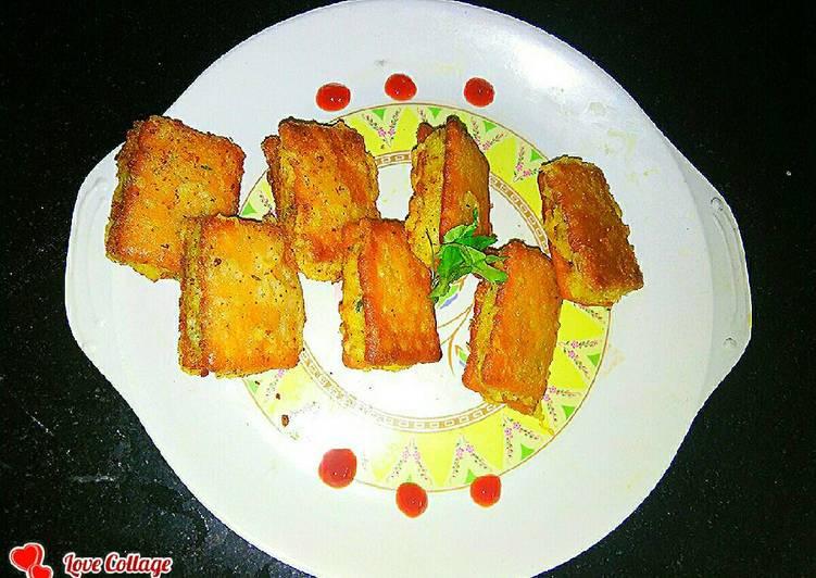 Biscuit samosa