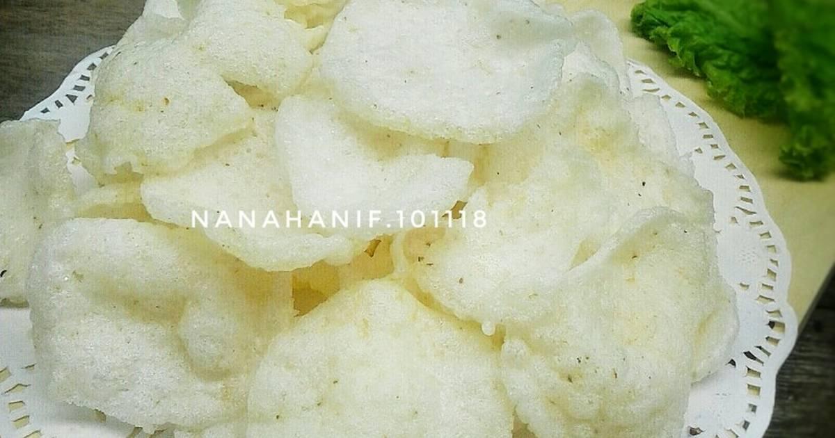 Resep Kerupuk Nasi Tanpa Bleng Oleh Nana Hanif Cookpad