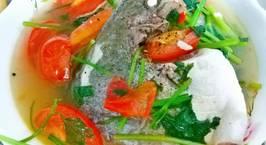Hình ảnh món Canh cá chim trắng nấu ngót