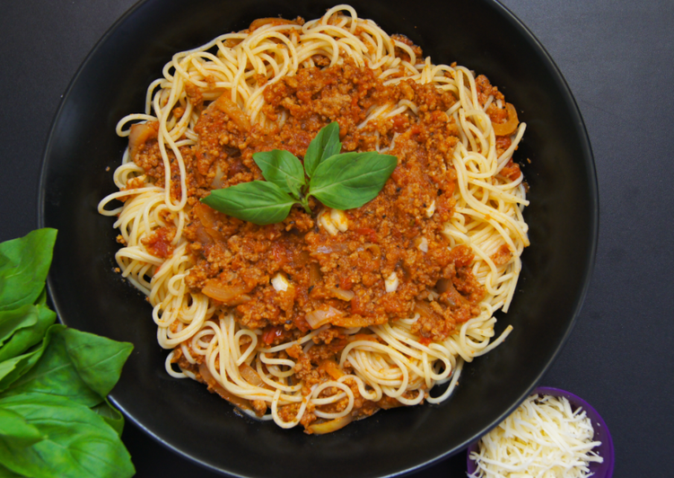 Easiest Way to Cook Delicious Spaghettis à la sauce bolognaise