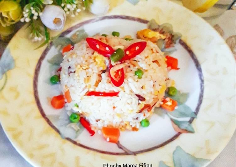 Nasi Goreng Rebon Telur Blueband