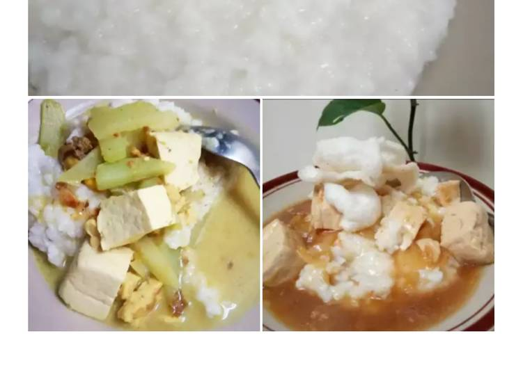 Bubur nasi sisa semalam
