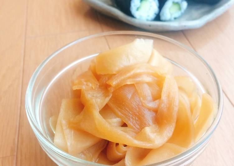 Kanpyo - simmered gourd for sushi roll