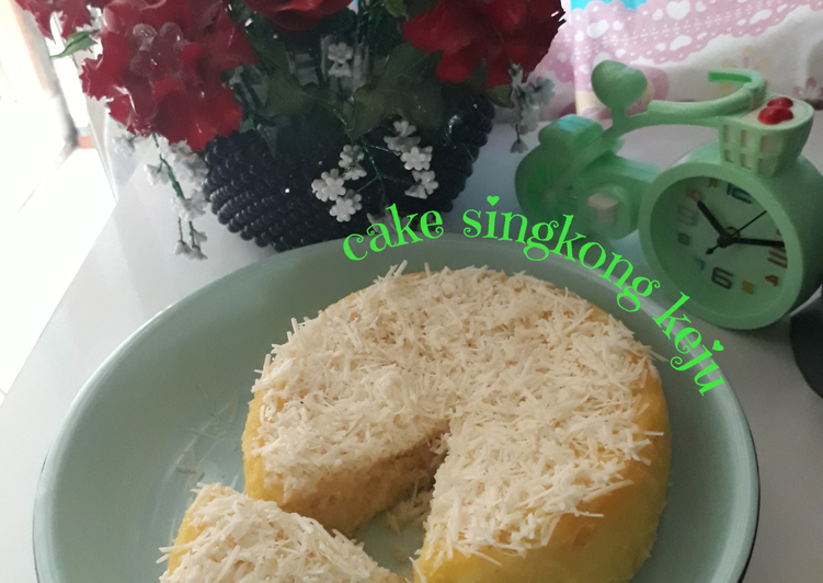 Resep Cake Singkong Keju Mudah Dan Enak Oleh Mbu Na De De Cookpad