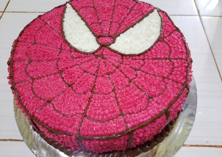 Resep Legit Kue Ulang Tahun Spiderman