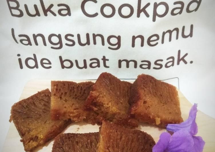 cara masak Kue sarang semut (Bolu karamel) - Sajian Dapur Bunda