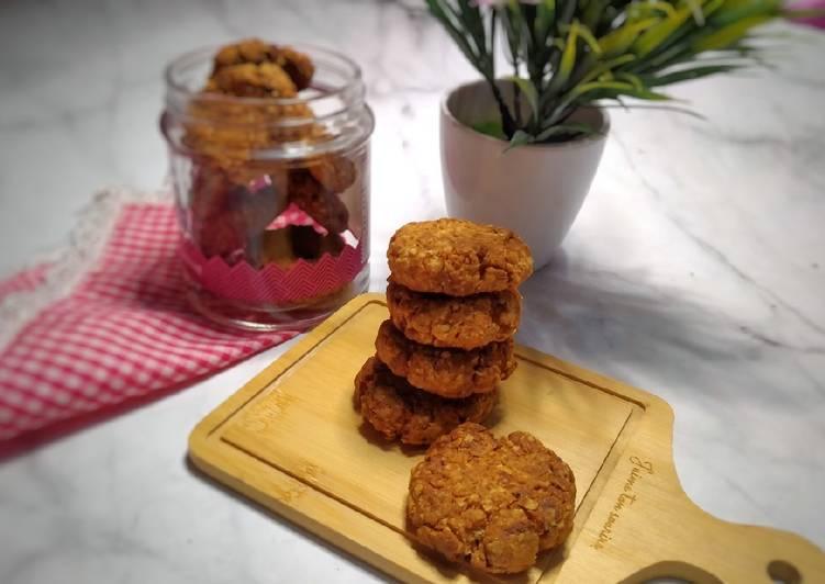 Oat Dates Ginger Cookies