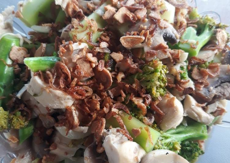 Brokoli Ayam Jamur