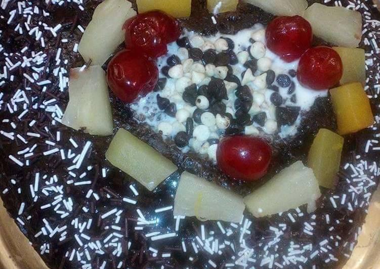 Recipe of Homemade Chocolate fruit cake