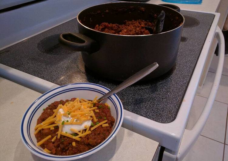 Florida Beef n' Bean Chili (Quick Version)
