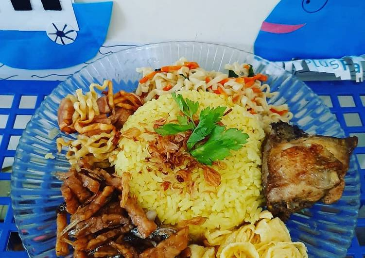 Nasi Kuning Rice Cooker ala Cheft Rudi